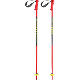LEKI Racing Kids Ski Sticks Kids neonred/black/white/yellow